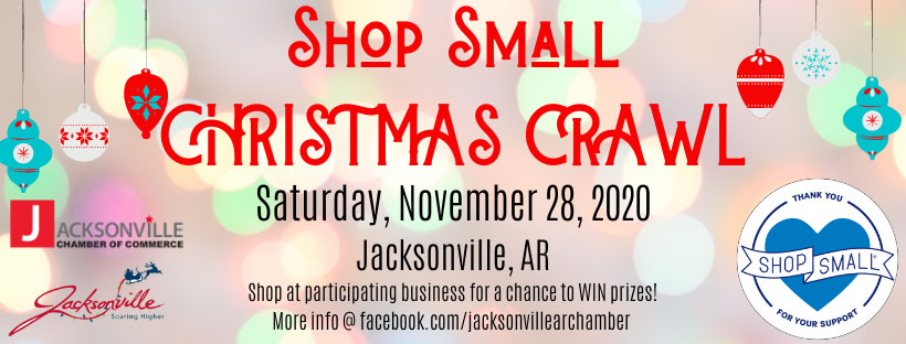 Shop Small Christmas Crawl 2020 flyer